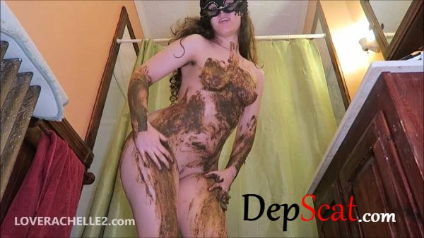 Hot, Literally STEAMY Shit Smear LoveRachelle2 - Scatology, Solo [FullHD 1080p/1.00 GB]