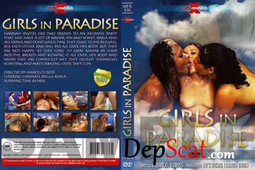 MFX-836 Girls In Paradise Hannah, Iris, Karla - Lesbian, Brazil [DVDRip/399 MB]