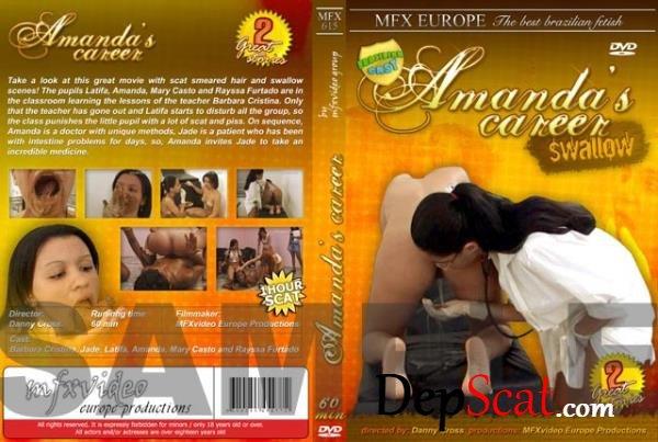 MFX-1052 My Favorite Teacher Latifa, Leslie, Sabrina Red - Vomit, Brazil [DVDRip/746 MB]