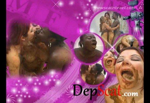 Scat Swallowing Models Tatthy, Nana Volgue, Karla - Lesbian, Domination [DVDRip/399 MB]