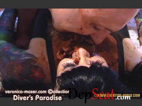 VM67 - DIVER'S PARADISE Veronica Moser, 1 male - Femdom, Milf, Smoking [HD 720p/597 MB]