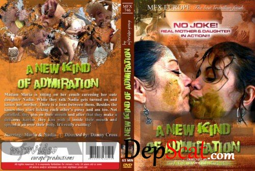 MFX-746 A New Kind Of Admiration Maria, Nadja - Lesbian, Smearing [SD/700 MB]