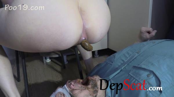 Lick my feet and swallow my shit MilanaSmelly - Femdom, Defecation [FullHD 1080p/1.58 GB]