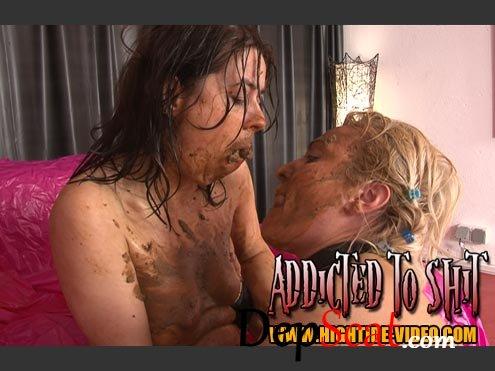Addicted To Shit Gina, Ingrid, 1 Male - Toys, Fetish, Lesbian [SD/1.20 GB]