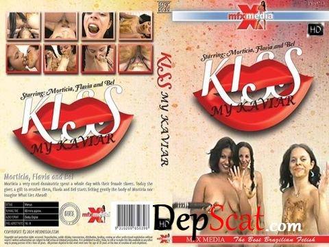 MFX-5039 Kiss My Kaviar Morticia, Flavia, Bel - Scat, Lesbian [HD 720p/602 MB]