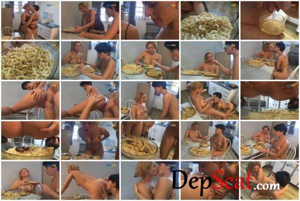 Spicy Pasta Lizandra, Giovanna - Lesbian, Eat shit, Brazil [SD/476 MB]