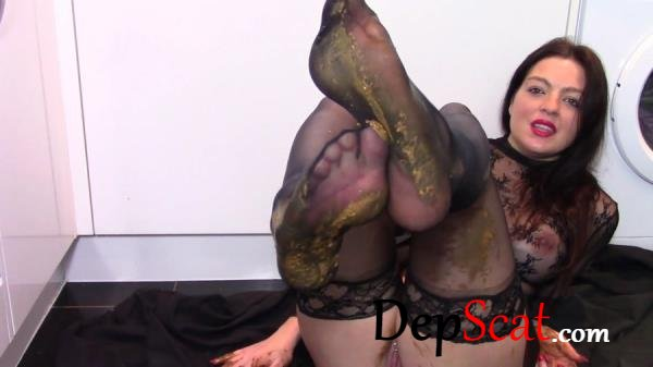 Leather Boot Scat Worship evamarie88 - Scatology, Milf, Solo [FullHD 1080p/1.49 GB]