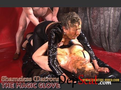 SHAMELESS MATRONS THE MAGIC GLOVE Marilou, Angelina, 1 male - Sex Shit, Threesome, Mature [HD 720p/591 MB]
