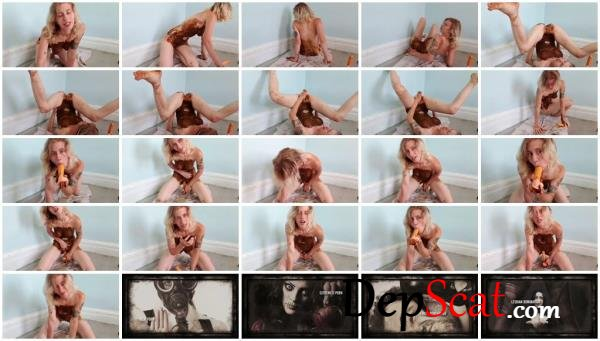 Piss Dildo Shit Covered xxecstacy - Solo, Masturbation [FullHD 1080p/688 MB]