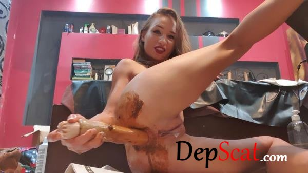 Fisting my ass to find some treasures AnalDirtyQueen - Masturbation, Dildo [FullHD 1080p/1.35 GB]
