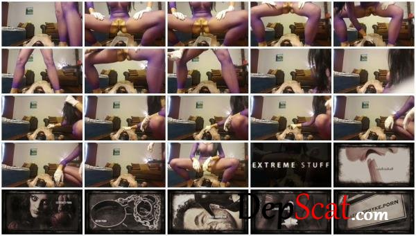Pooping on my slave's face Mistress Antonella Silicone - Domination, Amateur [FullHD 1080p/460 MB]