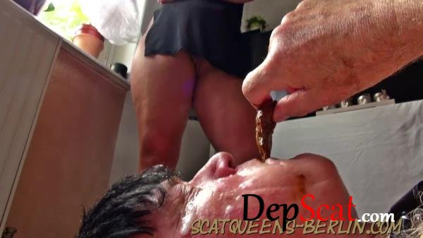 Slave Cunt Tortured and Shit into Mouth Part 1-2 - Scat, Humiliation [HD 720p/835 MB]