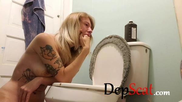 Toilet Slut Taste Smear Gag xxecstacy - Vomit, Solo, Scat [FullHD 1080p/837 MB]