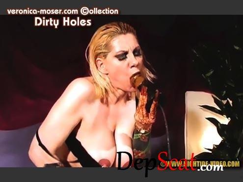 VM71 - DIRTY HOLES Veronica Moser - Solo, Milf, Masturbation [HD 720p/1.34 GB]