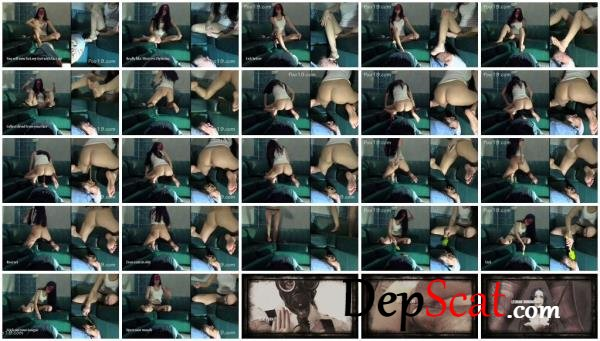 Mistress Christina's personal toilet MilanaSmelly - Scatting, Domination [FullHD 1080p/710 MB]