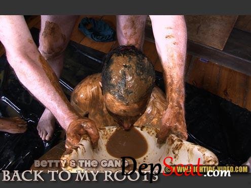 BETTY & THE GANG - BACK TO MY ROOTS Betty, 3 males - Domination, Sex, Blowjob [HD 720p/591 MB]