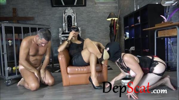 Sharing my special meal Mistress Gaia - Group, Humiliation [FullHD 1080p/492 MB]
