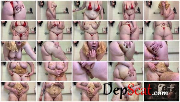 Teen Fart Sniffing, Poop Smearing & Tasting BustySeaWitch - Milf, Solo [HD 720p/1.09 GB]