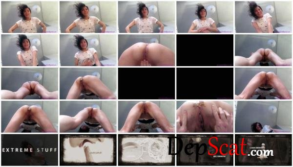 Peteuse Shits in Your Face ShitGirl - Extreme, Solo [FullHD 1080p/428 MB]