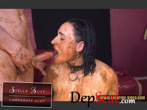 STELLA BLUE, CORPORATE SLUT Stella, 3 males - Domination, Group, Sex [HD 720p/594 MB]