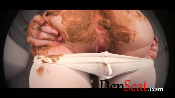 MONSTER poop killing my pantyhose DirtyBetty - Scat, Panty [FullHD 1080p/903 MB]