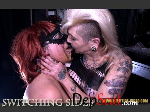 SWITCHING SIDES Miss Pia, Miss Kelly - Lesbians, Milf, BBW [HD 720p/687 MB]