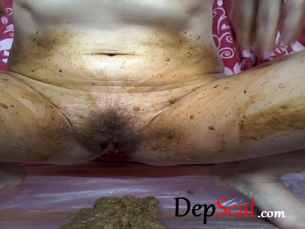Poop body cream Wera_fit - Scatting, Masturbation [SD/118 MB]