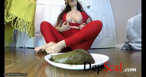 Auntie Gives You Farts… And A Stinky Meal! LoveRachelle2 - Defecation, Solo [UltraHD 4K/1.49 GB]