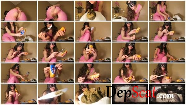 Eat My SHIT Filled Twinkies LoveRachelle2 - Female, Solo [FullHD 1080p/735 MB]