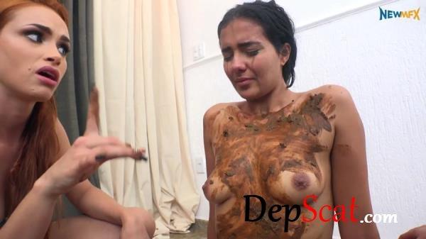 Scat cream Brazil - Lezdom, Humiliation [FullHD 1080p/2.66 GB]