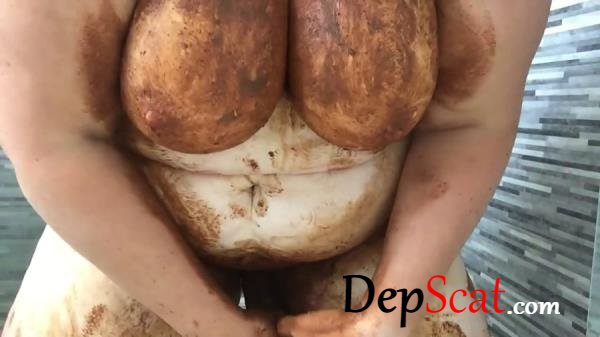 A very dirty girl in brown leggings Boobs Scat - Toys, BBW, [FullHD 1080p/833 MB]