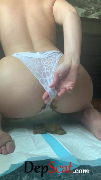 This panty poop turned real messy Natalielynne699 - Scatology, Solo [UltraHD 2K/455 MB]