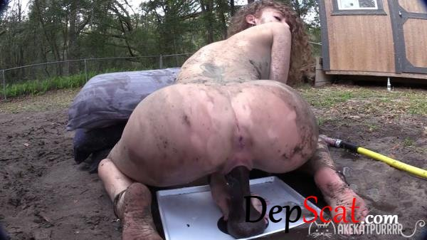 Down & Dirty MakeKatPurrrr - Shit, Outdoor [FullHD 1080p/1.30 GB]