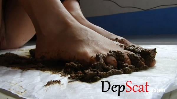 Scat Feet And Dirty Anal Fun MissAnja - Fetish, Poop [FullHD 1080p/1.50 GB]