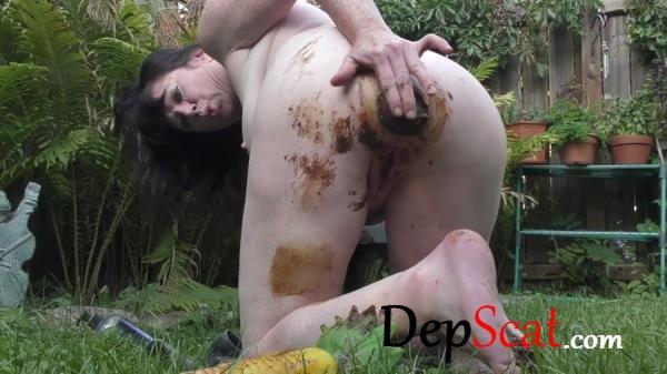 Shitty Corn Dildo dirtygardengirl - Solo, Prolaps [FullHD 1080p/905 MB]