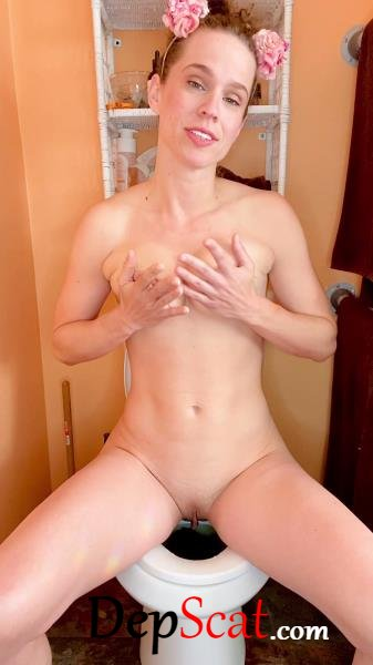 I cum while pooping on the toilet VibeWithMolly - Solo, Shit [UltraHD 2K/818 MB]