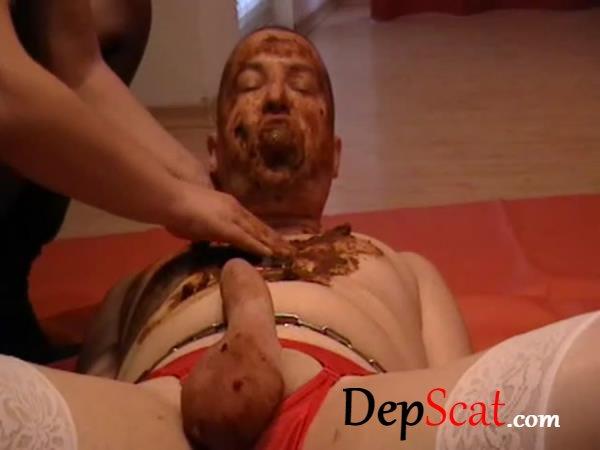 Goddess Margo – full scat feeding with chocking GoddessAndreea - Blowjob, Domination [SD/248 MB]