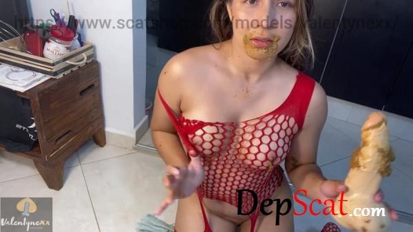 Licking my soft poo Valentynexx - Solo, Dildo [FullHD 1080p/640 MB]