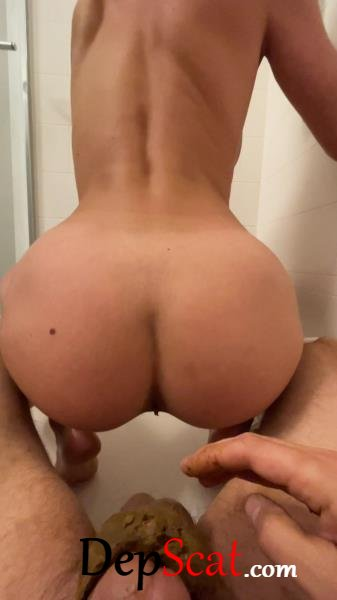 Poop and pee on dick VibeWithMolly - Anal, Amateur [UltraHD 2K/644 MB]