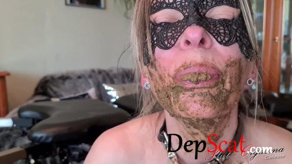 Pooping, scat smearing, swallowing and dildo SlutOrgasma - Solo, Milf [FullHD 1080p/992 MB]