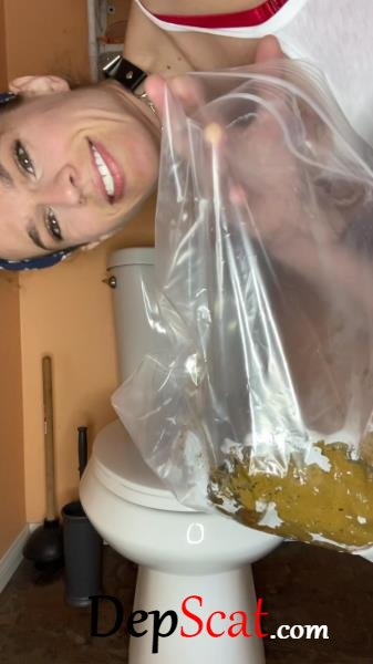 School girl poops in bag VibeWithMolly - Extreme, Solo [UltraHD 2K/623 MB]