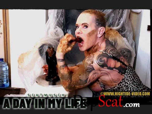 SCATMUSCHI - A DAY IN MY LIFE Scatmuschi - Solo, Milf [HD 720p/733 MB]