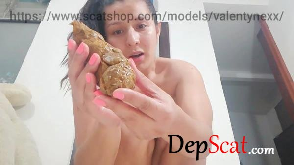 Standing pooping Valentynexx - Scatology, Solo [HD 720p/157 MB]