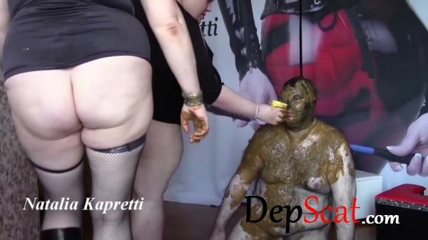Saliva Vomit Snot Swallow All Toilet Bowl Natalia Kapretti - Extreme, Femdom [FullHD 1080p/5.78 GB]